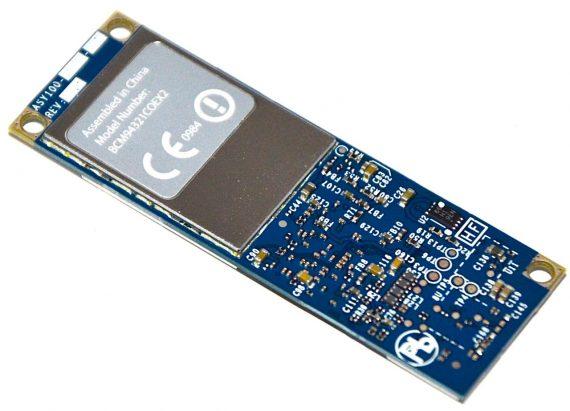 Mac Mini WIFI Bluetooth Airport Karte BCM94321COEX2 607-5808-A A1283 Late 2009-0