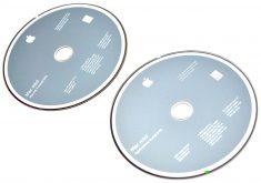 Original Apple 2 DVD MAC OS X 10.6.2 Mac Mini A1283 Late 2009-262