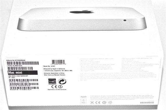 Originalverpackung OVP Mac Mini Unibody A1347 -341