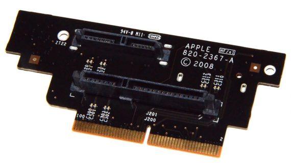 Mac Mini Dual Hard Drive Interconnect Board 820-2367-A A1283 Late 2009-0
