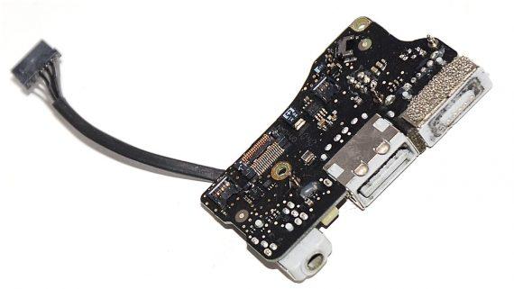 "Original Apple DC-IN MagSafe I/O Audio Board 820-3057-A MacBook Air 13"" Mid 2011 A1369 922-9963-546"