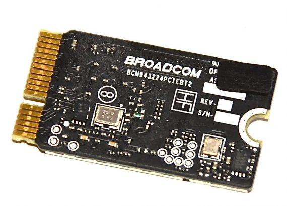 "Original Apple AirPort / Bluetooth Karte BCM943224PCIEBT2 MacBook Air 13"" Mid 2011 / Mid 2012 A1369 661-5687-525"