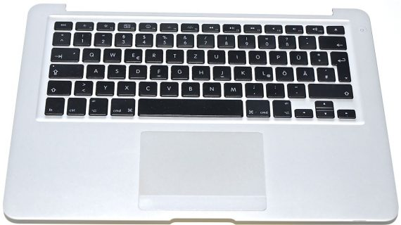 "Original Apple Topcase Tastatur Deutsch Trackpad MacBook Air 13"" Model A1237 -0"