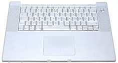 "Original Apple Topcase & Tastatur Deutsch & Trackpad MacBook Pro 15"" A1226-0"