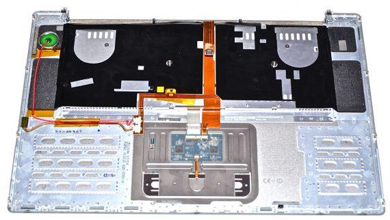 "Original Apple Topcase & Tastatur & Trackpad MacBook Pro 15"" A1150 -724"
