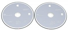 "2 DVD Apple Mac OS X 10.6.4 Snow Leopard iMac 27"" Mid 2010 A1312-595"