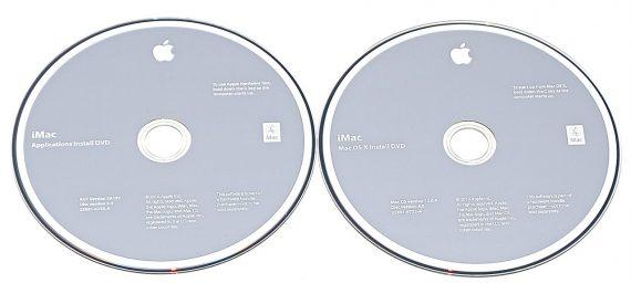 "2 DVD Apple Mac OS X 10.6.4 Snow Leopard iMac 27"" Mid 2010 A1312-595"