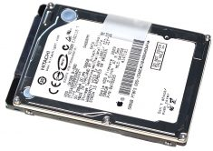 "Original Festplatte HITACHI TRAVELSTAR HTS545050B9SA02 500GB MacBook Pro Unibody 15"" Mid 2010 A1286-0"