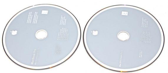 "Original Apple 2 DVD MAC OS X 10.5.2 MacBook Pro Unibody 15"" Late 2008 / Early 2009 A1286-775"
