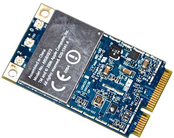 "Original Apple AirPort / Bluetooth Karte AR5BXB72 MacBook Pro 15"" Model A1211 -0"
