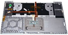 "MacBook Pro 17"" Topcase / Tastatur Deutsch Model A1261-1018"