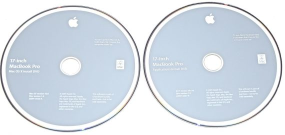 "MacBook Pro 17"" 2 DVD MAC OS X 10.6 Model A1297 Early / Mid 2009-1097"