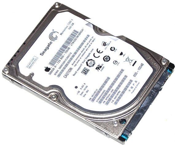 """MacBook Pro 17"""" Festplatte Seagate 500GB Model A1297 Early / Mid 2009-0"""