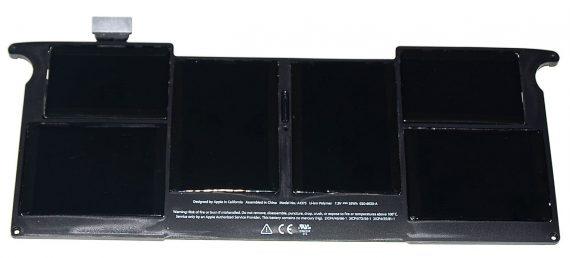"""Original Apple Akku / Battery 414 Ladezyklen MacBook Air 11"""" Model A1375 Late 2010 A1370 661-5736-0"""