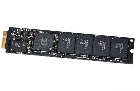 "Original Apple SSD 128GB TOSHIBA THNSNC128GMDJ 655-1634A MacBook Air 11"" 13"" A1369 A1370 Late 2010 / Mid 2011-0"