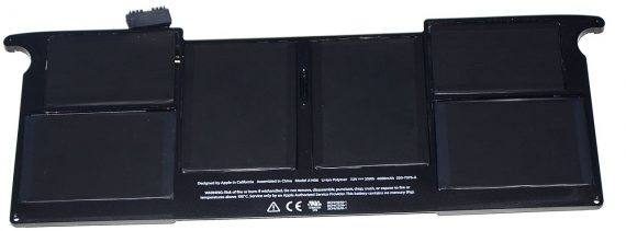 """Original Apple Akku / Batterie 251 Ladezyklen Model A1406 MacBook Air 11"""" Mid 2011 A1370 661-6068-0"""