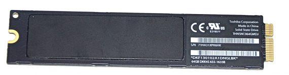 "Original Toshiba 64GB SSD THNSNC064GMDJ MacBook Air 11"" 13"" A1369 A1370 Late 2010 / Mid 2011 661-5682-1192"