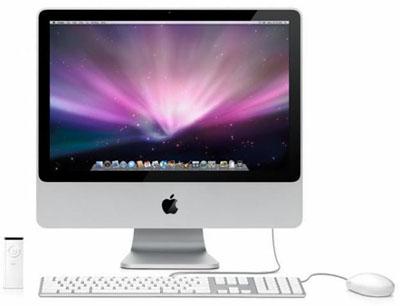 """Apple iMac 24"""" 2,4 GHz 4 GB RAM 320 GB HDD-0"""