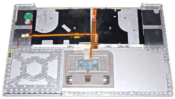 "Topcase & Tastatur & Trackpad MacBook Pro 17"" 2,33GHz Model A1212-1469"