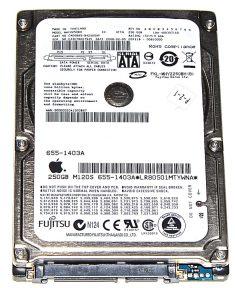 "Hard Drive Festplatte 2,5"" SATA Fujitsu 250GB MHY2250BH-0"
