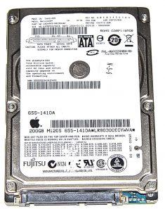 "Hard Drive Festplatte 2,5"" SATA Fujitsu 200GB MHY2200BH-0"