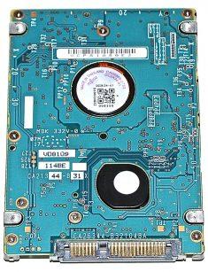"Hard Drive Festplatte 2,5"" SATA Fujitsu 200GB MHY2200BH-1325"