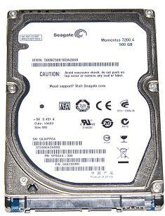 "Hard Drive Festplatte 2,5"" SATA Seagate 500GB ST9500420ASG-0"