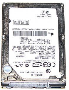 """Hard Drive Festplatte 2,5"""" SATA Hitachi 320GB HTS545032B9SA02-0"""
