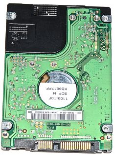 """Hard Drive Festplatte 2,5"""" SATA WD Scorpio 320GB WD3200BEVT-22ZCTO-1389"""