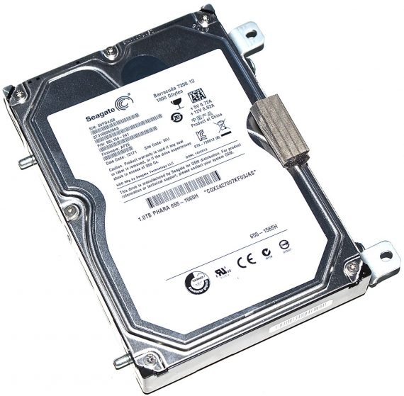 "Seagate Barracuda 7200.12 ST31000528AS 1TB iMac 27"" Late 2009 A1312-0"