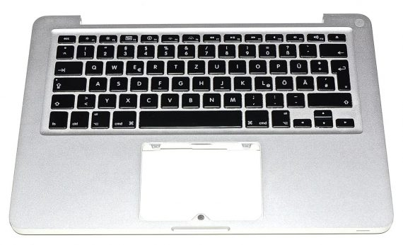 "Original Apple Upper Case / Topcase / Tastatur Deutsch MacBook Pro 13"" A1278 Mid 2009 -0"