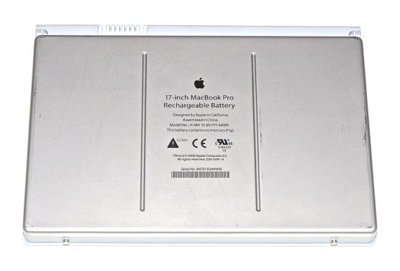 "MacBook Pro 17"" Akku / Batterie A1189 10.8V 68Wh Model A1212-0"