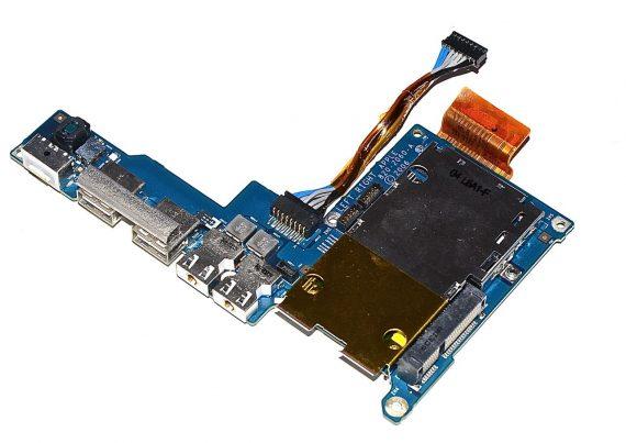 "MacBook Pro 17"" IO / DC / MagSafe Audio Board 820-2060-A Model A1212-0"