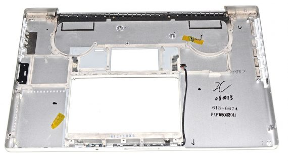 "MacBook Pro 17"" Lower Case / Gehäuse Unterteil Model A1212-1789"
