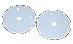 "Original Apple 2 DVD MAC OS X 10.6. MacBook Air 13"" Late 2008 / Mid 2009 A1304-1869"