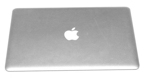 """Original Apple Displaydeckel / Display Gehäuse MacBook Air 13"""" Late 2008 / Mid 2009 A1304-0"""