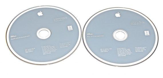 "Original Apple 2 DVD MAC OS X 10.6.2 2Z691-6590-A iMac 21.5"" Late 2009 A1311-0"
