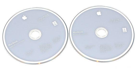 "Original Apple 2 DVD MAC OS X 10.6.1 MacBook 13"" Unibody Late 2009 A1342-0"