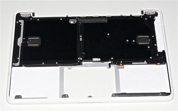 "Original Apple Upper Case Topcase Tastatur MacBook 13"" Unibody Late 2009 A1342 -1973"