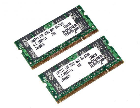 """RAM 2GB 667MHz für MacBook 13"""" Late 2007 A1181 Schwarz-0"""