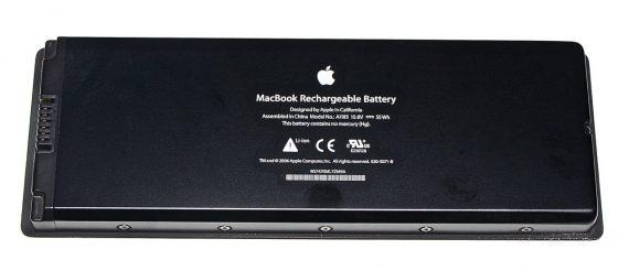 "Akku / Batterie 18 Ladezyklen für MacBook 13"" Late 2007 A1181 Schwarz-2057"