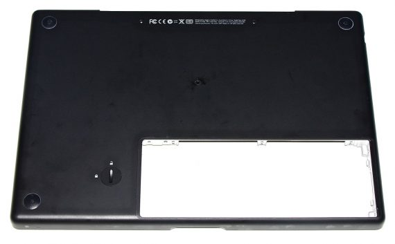 "Lower Case / Bottom Case Unterteil für MacBook 13"" Late 2007 A1181 Schwarz-0"
