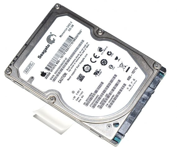 "Original Apple Festplatte 2,5"" SATA Seagate 320GB MacBook Pro 13"" ( Early 2011 / Late 2011) A1278-0"
