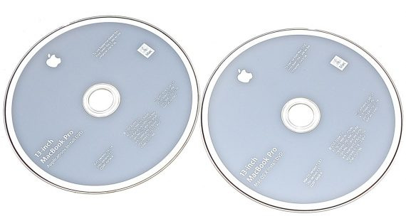 "Original Apple Restore 2 DVD MAC OS X 10.6.4 MacBook Pro 13"" A1278 Mid 2010-0"