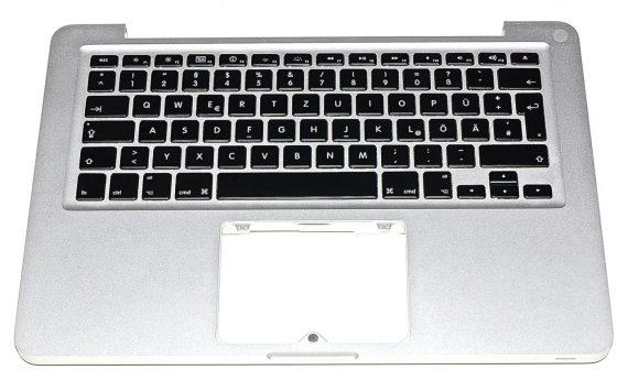"""Original Apple Upper Case / Topcase / Tastatur Deutsch MacBook Pro 13"""" A1278 Mid 2010 -0"""