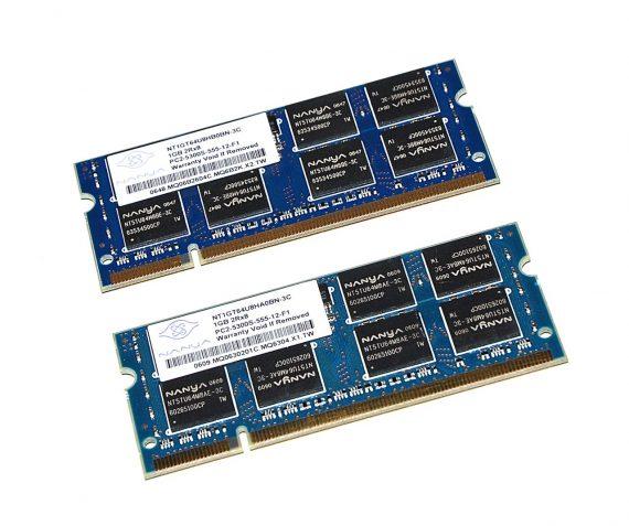 "RAM PC2-5300 2GB 667 MHz für MacBook Pro 15"" Model A1226-0"