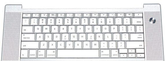 """Topcase Tastatur Trackpad Englisch für MacBook Pro 15"""" Model A1226-2321"""