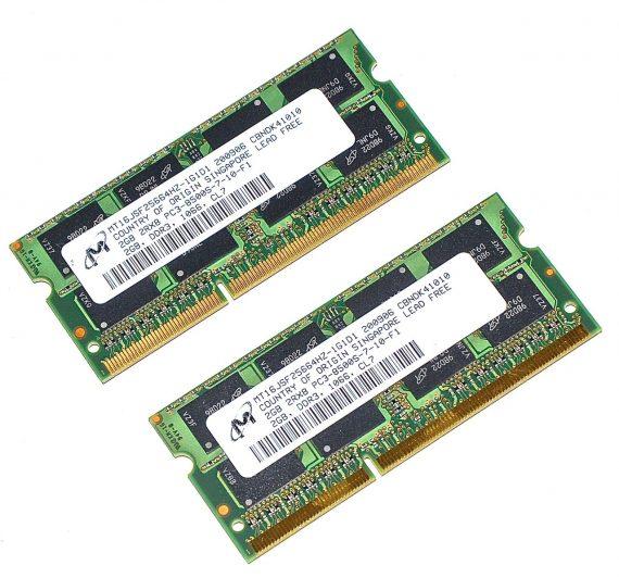 """Arbeitsspeicher 4GB ( 2GB X 2GB ) PC3-8500 DDR3 1066Mhz iMac 24"""" A1225 Early 2009-0"""