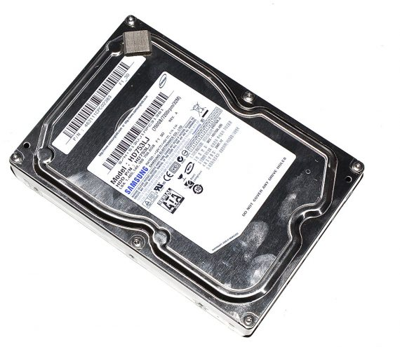 "Festplatte 3,5"" Samsung 750GB HD753LJ für iMac 24"" A1225 Mid 2007-0"