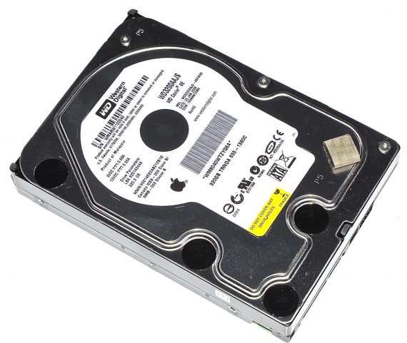 "Festplatte Western Digital 320GB WD3200AAJ8 655-1380C für iMac 20"" A1224 Early 2008-0"
